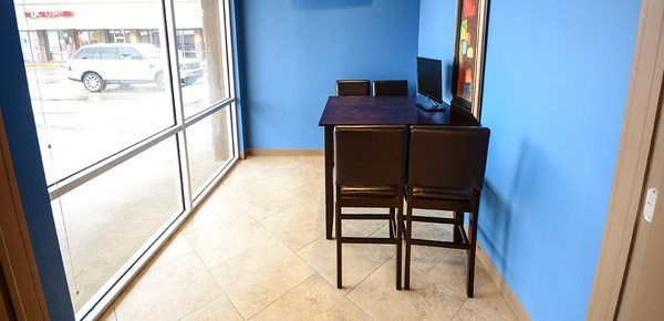 An image of our Texas dental office consultation room
